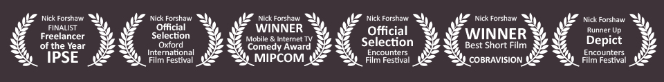Multi award winning animation, video and film production